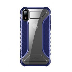 Husa pentru Apple iPhone XR, Baseus Michelin Case, Albastru, 6.1 inch