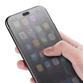 Husa pentru Apple iPhone XR, Baseus Touchable Case, Negru, 6.1 inch