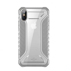 Husa pentru Apple iPhone XS Max, Baseus Michelin Case, Gri, 6.5 inch