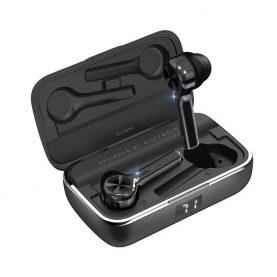 Casti in-Ear BlitzWolf BW-FYE6 TWS, Negru, Wireless, Bluetooth 5.0, Protectie IPX6