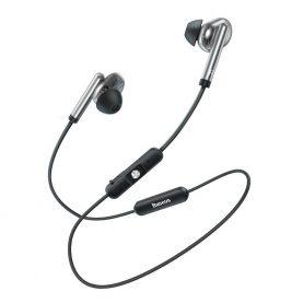 Casti in-Ear Baseus Encok S30, Argintiu, Bluetooth 5.0, Baterie 100 mAh