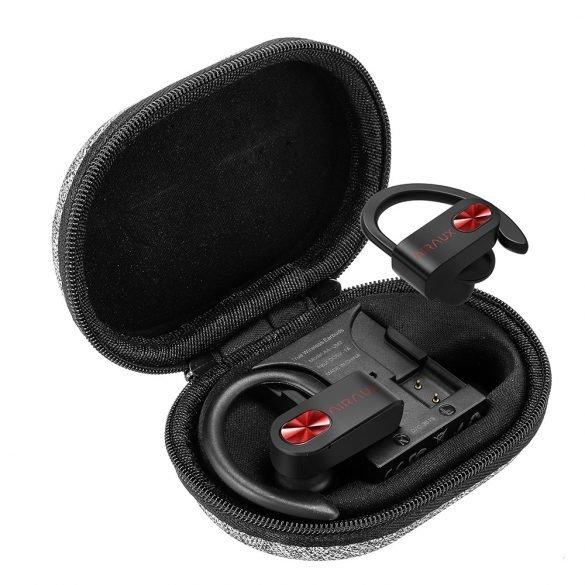 Casti in-Ear BlitzWolf AIRAUX AA-UM2, Bluetooth 5.0, TWS, Charging box 480 mAh imagine