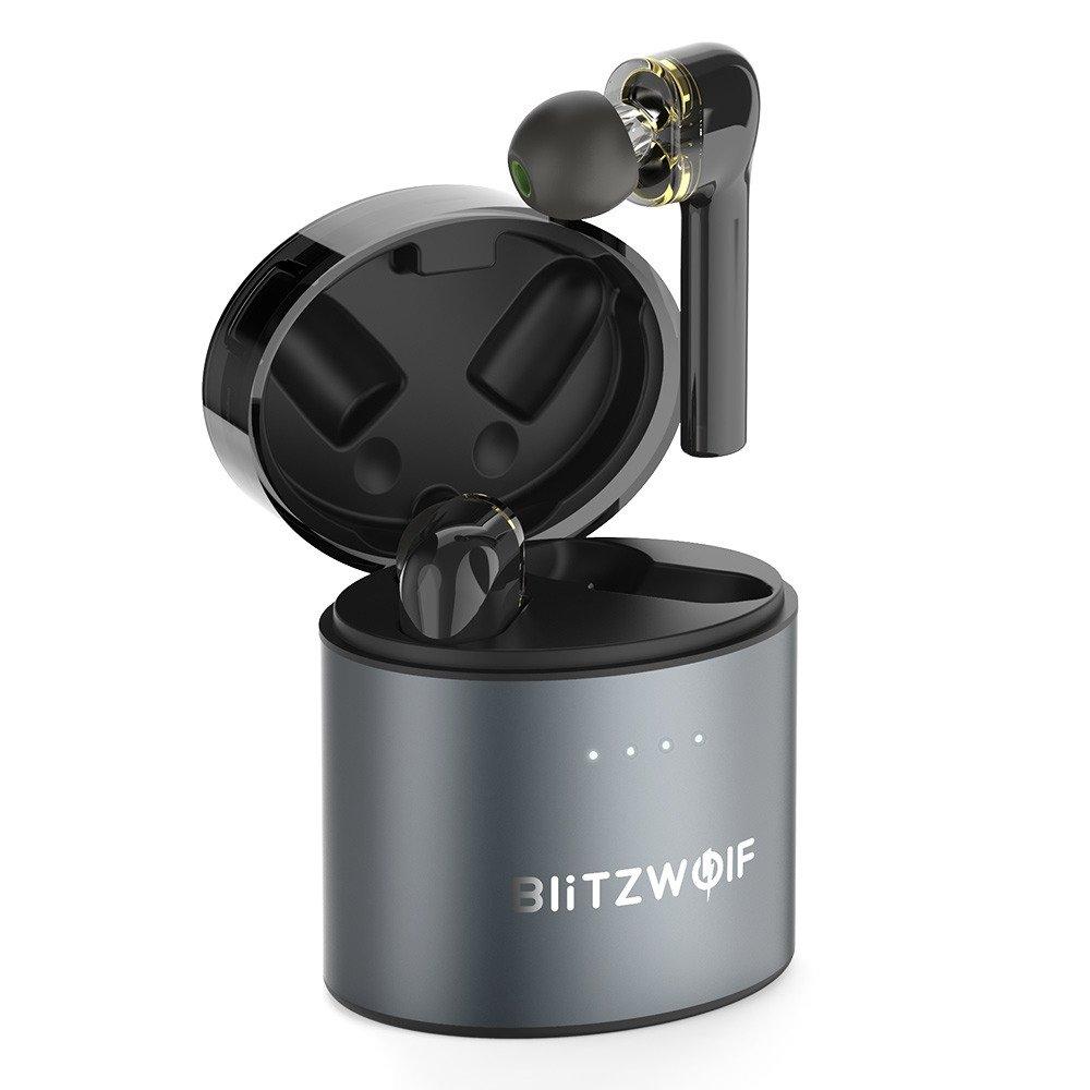 Casti in-Ear BitzWolf TWS BW-FYE8, Wireless, Bluetooth 5.0, Baterie 500 mAh imagine