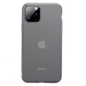 Husa Apple iPhone 11 Pro, Baseus Jelly Liquid, Fumuriu / Transparent, 5.8 inch
