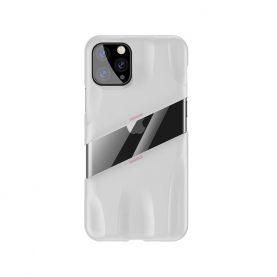 Husa Apple iPhone 11 Pro, Baseus Let's go Airflow, Alb, 5.8 inch