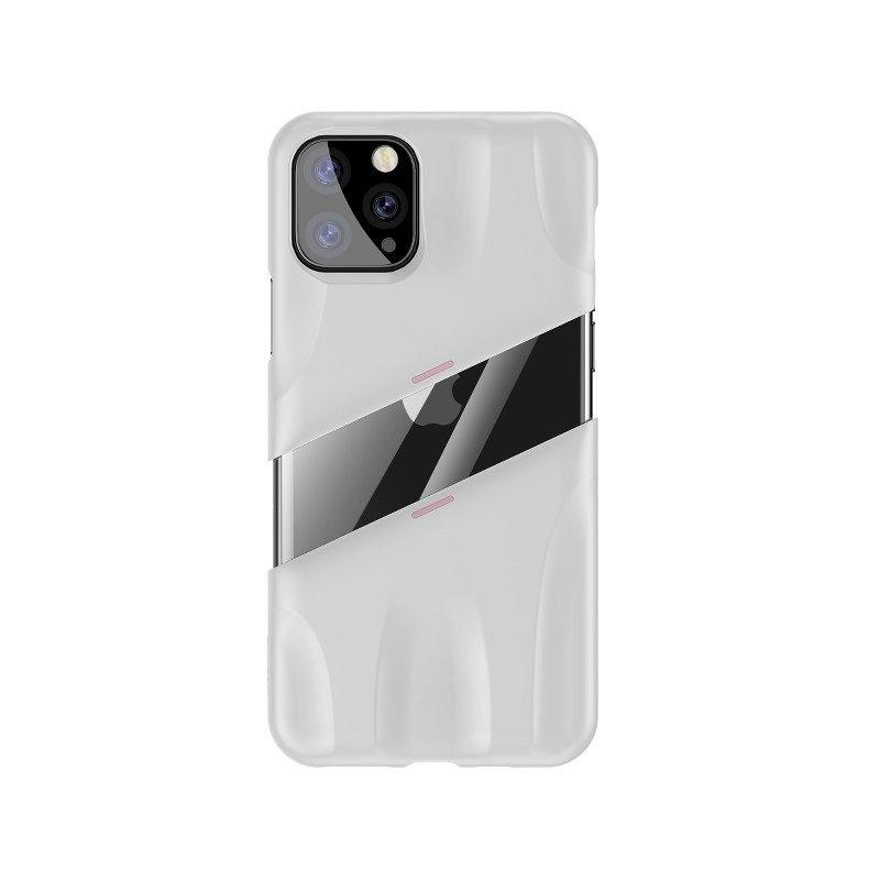 Husa Apple iPhone 11 Pro, Baseus Let's go Airflow, Alb, 5.8 inch imagine