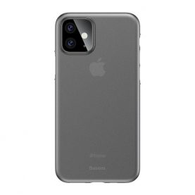 Husa Apple iPhone 11, Bases Wing Case, Alb, 6.1 inch