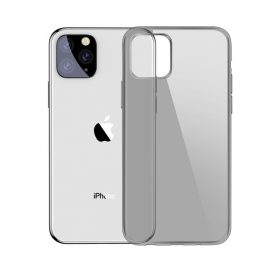 Husa Apple iPhone 11 Pro, Baseus Simplicity Series, Negru / Transparent, 5.8 inch