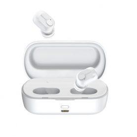 Casti in-Ear Baseus Encok W01, Alb, Wireless, Bluetooth 5.0