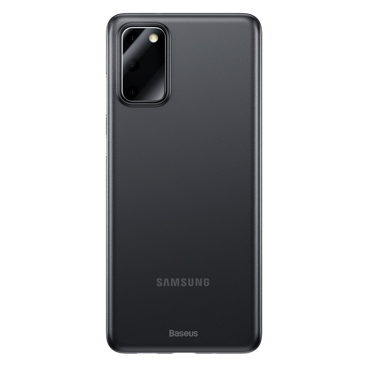 Husa Samsung Galaxy S20, Baseus Wing Case, Fumuriu, Grosime 0.4 mm imagine