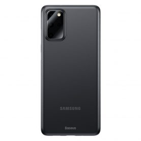 Husa Samsung Samsung S20+, Baseus Wing Case, Fumuriu, Grosime 0.4 mm