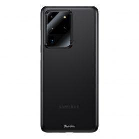 Husa Samsung Galaxy S20 Ultra 5G, Baseus Wing Case, Fumuriu, Grosime 0.4 mm