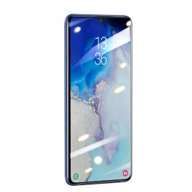 Pachet 2 folii de sticla pentru protectie ecran, Samsung Galaxy S20, Baseus tempered glass, 0.25 mm