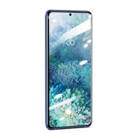 Pachet 2 folii de sticla pentru protectie ecran, Samsung Galaxy S20+, Baseus tempered glass, 0.25 mm