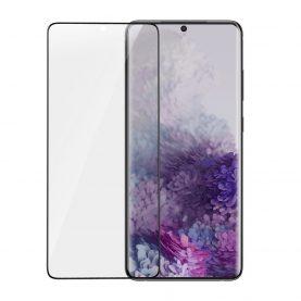 Pachet 2 folii de sticla pentru protectie ecran, Samsung Galaxy S20 Plus, Transparent, Grosime 0.15 mm