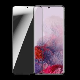 Pachet 2 folii de sticla pentru protectie ecran, Samsung Galaxy S20 Ultra, Transparent, Grosime 0.15 mm