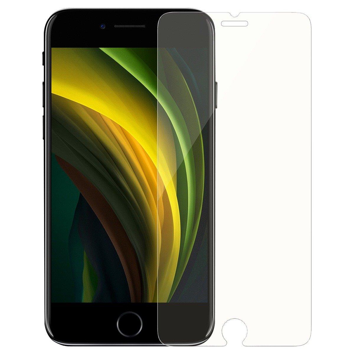 Pachet 2 folii de sticla pentru protectie ecran, Apple iPhone SE 2020, Protectie 9H, 4.7 inch imagine