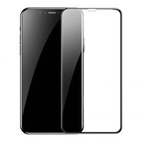 Set 2 folii de sticla pentru protectie ecran, Apple iPhone XR / 11, Baseus Tempered Glass, 6.1 inch