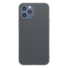 Husa Apple iPhone 12 Pro Max, Baseus Comfort Case, Negru, 6.7 inch