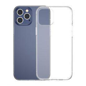 Husa pentru Apple iPhone 12 Pro Max, Baseus Simplicity, Transparent, 6.7 inch