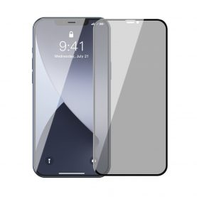 Set 2 folii de sticla pentru protectie ecran, Apple iPhone 12 Mini, Grosime 0.23mm