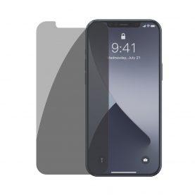 Set 2 folii din sticla securizata pentru iPhone 12 Mini, Baseus Tempered Glass, 5.4 inch