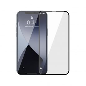 Pachet 2 folii de sticla pentru iPhone 12 / 12 Pro, Baseus Tempered Glass, 6.1 inch