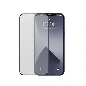 Set 2 folii de sticla pentru iPhone 12 Pro Max, Matte Tempered Privacy Glass, 6.7 inch, Grosime 0.25 mm