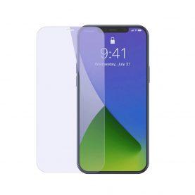 Pachet 2 folii de sticla pentru iPhone 12 Pro Max, Tempered Glass, Filtru lumina albastra, 0.3 mm, 6.7 inch