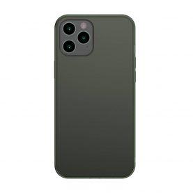Husa Apple iPhone 12 Pro Max, Baseus Protective Case, Verde, 6.7 inch