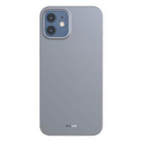 Husa Apple iPhone 12 Pro Max, Baseus Wing Case, Alb, 6.7 inch