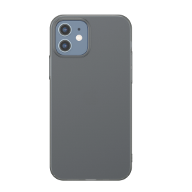 Husa Apple iPhone 12 Mini, Baseus Comfort Case, Negru, 5.4 inch