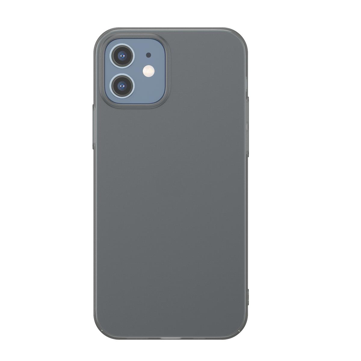Husa Apple iPhone 12 Mini, Baseus Comfort Case, Negru, 5.4 inch imagine