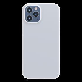 Husa Apple iPhone 12 / 12 Pro, Baseus Comfort Case, Alb, 6.1 inch