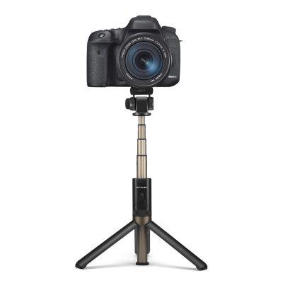 Selfie stick BlitzWolf BW-BS3 Sport, Negru, Cu trepied, Portabil, 3 in 1, Bluetooth 3.0