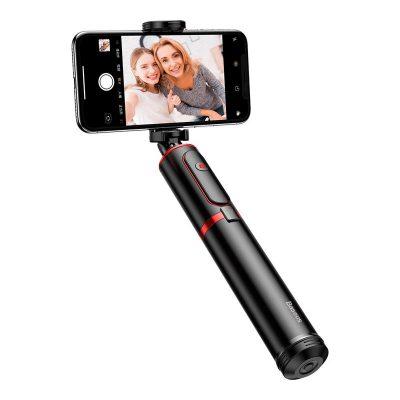 Selfie Stick Baseus SUDYZP-D 19, Cu trepied telescopic, Multifunctional, Control telecomanda bluetooth