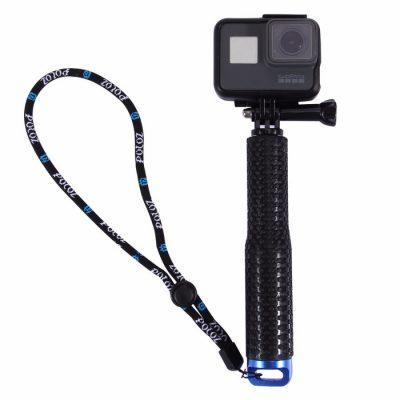 Selfie stick Puluz PU150, Pentru camere, Portabil, Extensibil, Curea inclusa