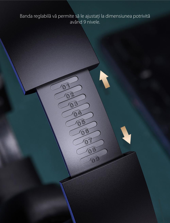 Casti on-Ear Baseus Encok D07, Negru, Wireless, Bluetooth 5.0, Baterie 200 mAh