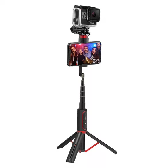 Selfie Stick BlitzWolf BW-BS10 Sport, Portabil, 3 in 1, Multifunctional, Detasabil, Bluetooth 3.0 imagine