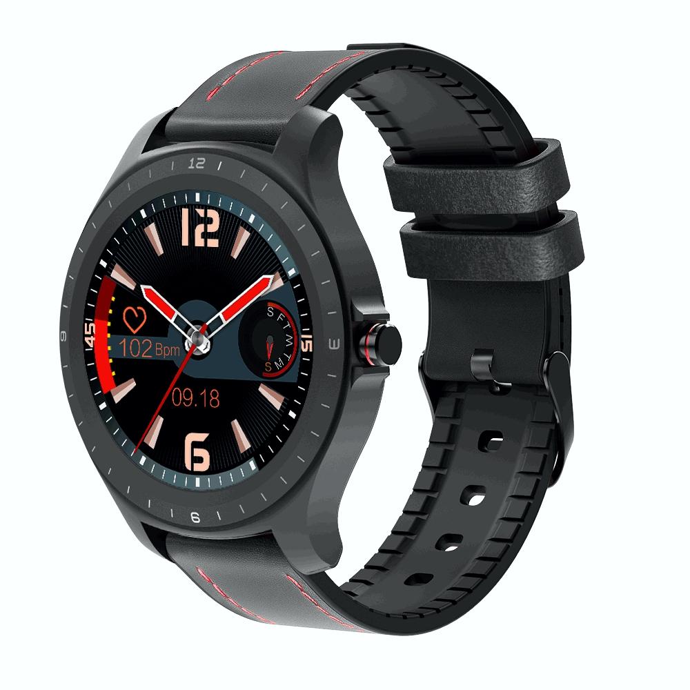 Ceas smartwatch BlitzWolf BW-HL2, Negru, Pedometru, Distanta, Calorii arse, 6 Moduri sportive, Sedentarism imagine