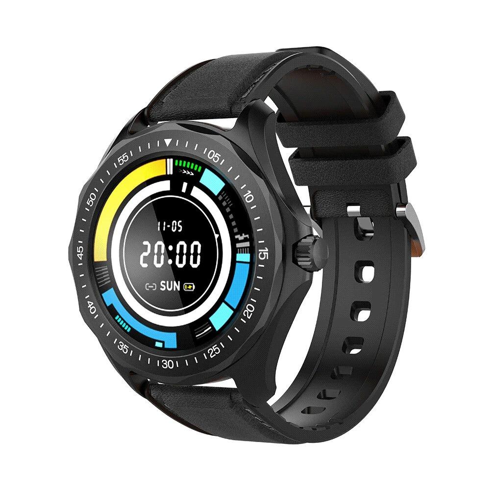 Ceas smartwatch BlitzWolf BW-HL3, Negru, Pedometru, Distanta parcursa, Calorii arse, Monitorizare ritm cardiac imagine