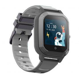 Ceas Smartwatch Pentru Copii, Wonlex KT20, Negru, SIM card, 4G, Rezistent la apa IP54, Apel video