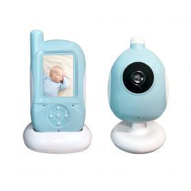 Baby Monitor BS-A920, 2.4 inch, Monitorizare temperatura, Baterie reincarcabila, Cantece de leagan, Vedere nocturna