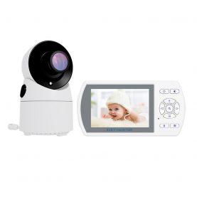 Baby Monitor BS-W225, Wireless, 3.5 inch, Monitorizare temperatura, Cantece de leagan, 6 nivele de luminozitate