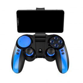 GamePad Ipega PG-9090 BLUE ELF, Raza de actiune 8 metri, Functie turbo, Autonomie 10 ore