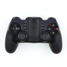 Gamepad Ipega Batman PG-9076, Indicatoare LED, Baterie 380 mAh, Distanta transmisie bluetooth 8 metri