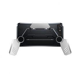 Husa Apple iPhone 7 / 8 Pentru Gaming, Baseus GamePad Case, Argintiu
