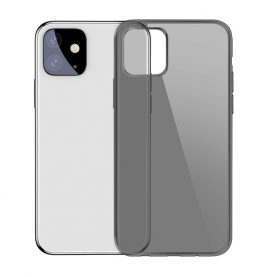 Husa Apple iPhone 11, Baseus Simplicity Series, Negru / Transparent, 6.1 inch