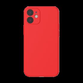 Husa pentru Apple iPhone 12 Mini, Baseus Protective Case, Silicon, Rosu, 5.4 inch