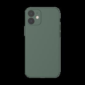 Husa pentru Apple iPhone 12, Baseus Protective Case, Silicon, Verde, 6.1 inch